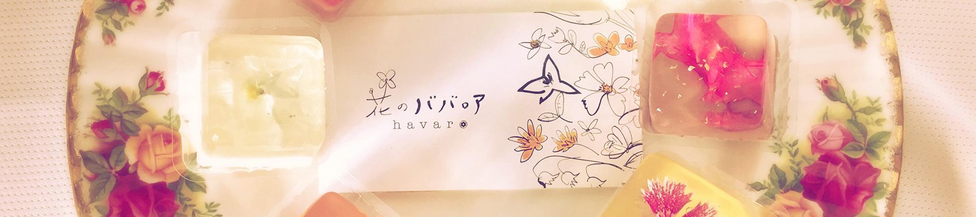 花のババロア havaro